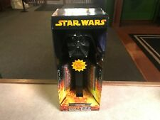 "2005 Star Wars Darth Vader Giant LARGE 12"" Pez Dispenser BLACK Revenge Sith NIB"
