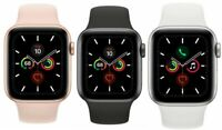 Apple Watch Series 5 40mm 44mm GPS + Cellular 4G LTE Gold Space Gray Silver