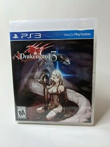 *Sealed* Drakengard 3 (Sony PlayStation 3 PS3) - CIB Complete Brand New