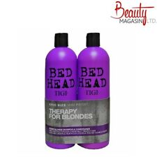 TIGI BED HEAD DUMB BLONDE TWEEN 2 X 750ML SHAMPOO AND CONDITIONER DUO