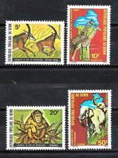 Bénin 1979 Faune sauvage (109) Yvert n° 457 à 460 neuf ** 1er choix