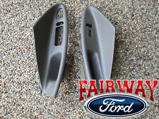 01 thru 04 Mustang Convertible OEM Door Window Switch Panel Pair MED PARCHMENT