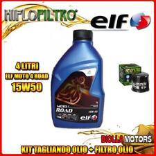 KIT TAGLIANDO 4LT OLIO ELF MOTO 4 ROAD 15W50 TRIUMPH 1050 Speed Triple S 1050CC