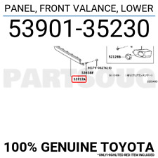 5390135230 Genuine Toyota PANEL, FRONT VALANCE, LOWER 53901-35230