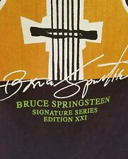 Hard Rock Cafe Bruce Springsteen Signature Series XXI T-Shirt Sz L New York