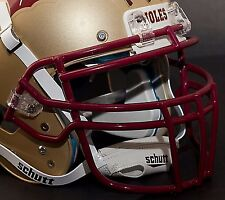 Schutt Super Pro ROPO-DW Football Helmet Facemask / Faceguard (SAN FRAN RED)