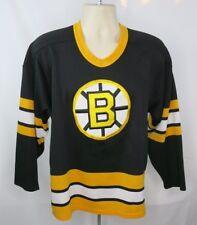 Vintage NHL Boston Bruins Jersey Sz S CCM Maska Black Made in USA