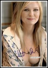 Kirsten Dunst, Autographed, Cotton Canvas Image. Limited Edition (KD-1)