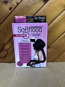 Hair Flair Deluxe Softhood Bonnet Hair Dryer Attachment - New