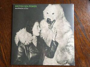 "BRITISH SEA POWER-""MACHINERIES OF JOY"" **NEW/SEALED ON 1 X 12"" VINYL LP** 2013."