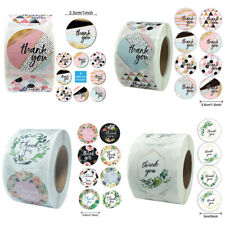 40 THANK YOU STICKERS ENVELOPE PACKAGE SEALS LABELS STICKERS 1
