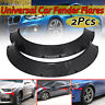 Universal Fender Flares Carbon Fiber Look Fenders Extra Wide Body Wheel Arches
