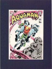 Nick Cardy 1970 Aquaman #52 Original Comic Cover Proof Dc Comics Production Art