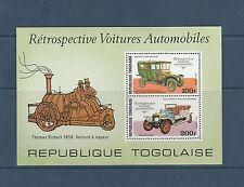 Togo bloc    voitures anciennes  de 1977   num:  105   **