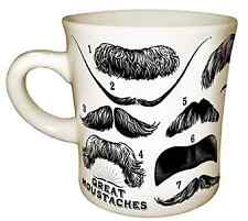 Great Moustaches Mug New In The Box