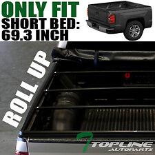 Topline For 2007-2014 Silverado/Sierra 5.8' Short Bed Lock Roll Up Tonneau Cover