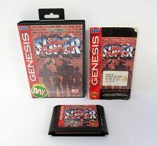 SUPER STREET FIGHTER II Sega Genesis Game CLEANED & TESTED / COMPLETE w/BOX 1994