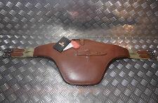 English Leather Studguard Girth  Horse Pony Black Brown Havana  Treadstone