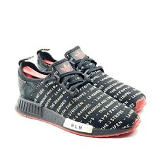 Adidas NMD R1 Berlin Passport Pack Black Red White Mens 9.5 UK 9 EUR 43 EG6363