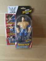 WWE Super Stretch Stretching Toy Mini Action Figure Doll 15cm Blue - AJ Styles