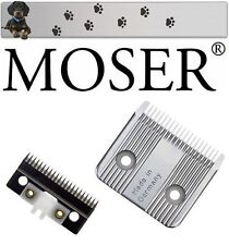 """Moser Styling (III) Tosatrice per cani Set lama """" NUOVO conf. orig. """""""