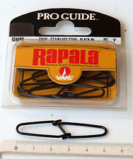 Agrafe leurre Rapala Pro Guide / Rapala Pro Guide stainless steel snap #6