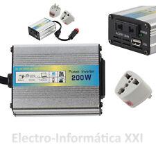 Transformator Umschalter 200W 12V-220V Zigarettenanzünder Wechselrichter