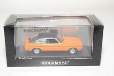 . MINICHAMPS FORD CAPRI MK II MK 2 1974-77 ORANGE MINT BOXED RARE SELTEN RARO