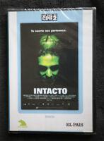 INTACTO, 2001 (Sbaraglia, Von Sydow - Fresnadillo). DE CULTO, DVD NUEVO SELLADO!
