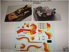 "DECAL 1/43 PORSCHE 935 LE MANS 1979 ""KORES"" N. 39"