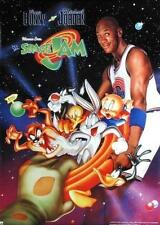 1996 Space Jam Michael Jordan & Bugs Bunny Original OSP Movie Poster OOP