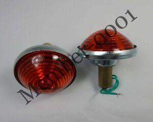 Rear Tail Light Lamp / Turn Signal Amber Lens for Willys Jeep CJ3 CJ5 CJ6