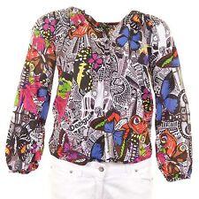 Desigual Mädchen-Tops, - T-Shirts & -Blusen aus 100% Baumwolle