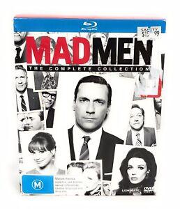 Mad Men Blu Ray The Complete Series Season 1 2 3 4 5 6 7  Madmen Region B
