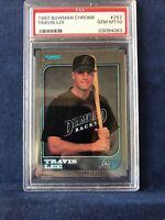 1997 Bowman Chrome Travis Lee PSA 10 Gem Mint #257