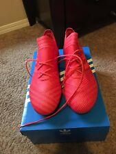 Adidas Men's Nemeziz 17.1 FG Soccer Cleats (Coral/Red/Core Black) Size: 9.5