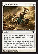 Ajani's Presence NM X4 MTG Magic Cards Journey into Nyx White Common
