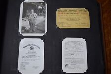 Original WWII Photo Album 307 Pics Named Soldier Burma-China-India ETO