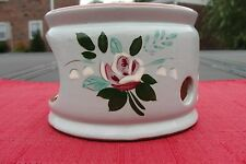 Stangl Bella Rosa Candle Warmer
