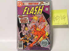 The Flash #291 Dc Comics 1980 Gd/Vg vs Sabertooth! Cover Unattached @Top Staple