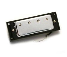 Allparts Chrome Humbucker Bridge Pickup for Gibson/Epiphone® EB Bass PU-0419-010
