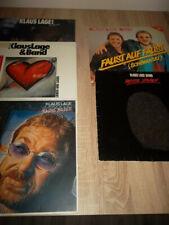 Klaus situación banda 5x vinilo LP Colección