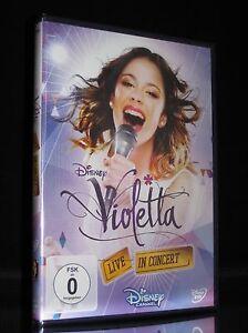 DVD VIOLETTA - LIVE IN CONCERT - Bühnenshow in MAILAND - Backstage Einblicke NEU