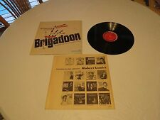Brigadoon Armstrong lerner Loewe's TV sound track LP Album RARE Record vinyl