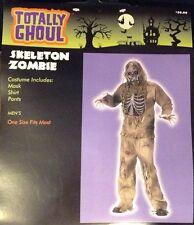 New Skeleton Zombie Adult Halloween Costume