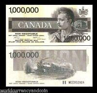 CANADA 1991 x 100 Pcs Lot RAIL ROAD UNC Bundle B A BANK NOTE