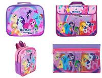 MY LITTLE PONY SCHOOL PACKED LUNCH BAG DOCUMENT BAG BACK PACK PENCIL CASE GIFT S