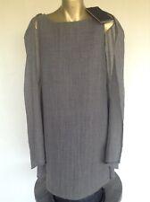 Women's Italian Designer Linen Summer Dress - L (8-10)