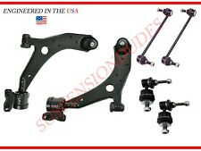 6PC Front Lower Control Arms Front/Rear Sway Bar Links 04-09 Mazda 3 06-17 5
