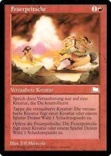 """Magic The Gathering (MtG) Karte """"Feuerpeitsche"""" deutsch neuwertig"""